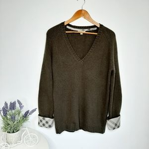 Burberry Brit Women's Cashmere Sweater size L